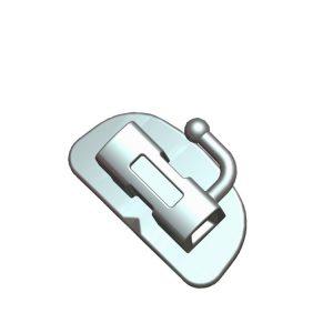 1st/2nd MIM Bondable molar orthodontic buccal tube