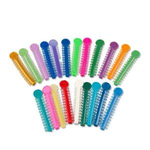 Dental orthodontic super elastic tie